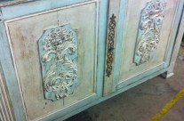 Painted Sideboard From France