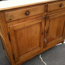 Tall Oak Sideboard