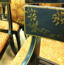 Set of 6 Chinoiserie Chairs
