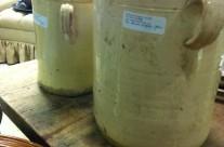 Antique Kitchen Jars