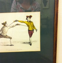 Fencing Lithographs