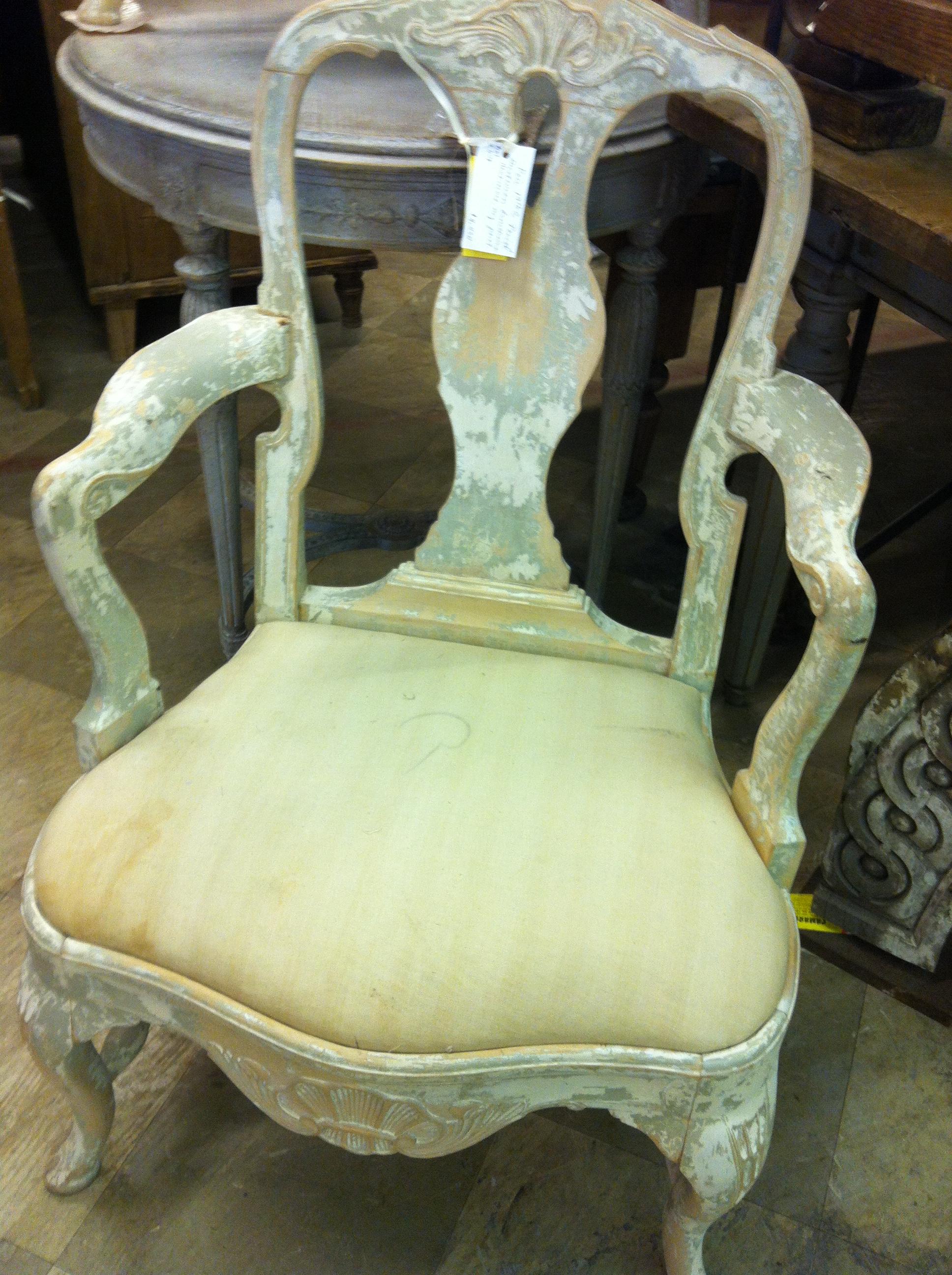 Pair Period Swedish Gustavian Chairs