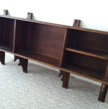 Antique Walnut Shelf
