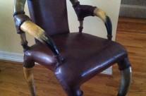Long Horn Chair, Belgium