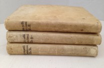 Vellum Volumes, Set of 3