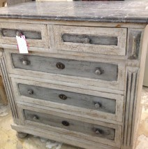 French Empire Commode w/Marble Top