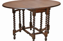 English Oak Drop Leaf Table