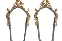Venetian Baroque Mirrors, Pair