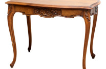 French Walnut Carved Table
