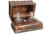 French Liquor Tantalus Set