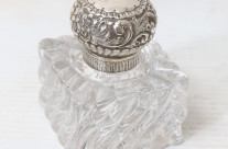 Sterling & Crystal Perfume Bottle