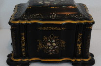 19th-Century English Tea Caddy