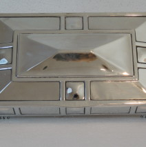 Silver Art Deco Box