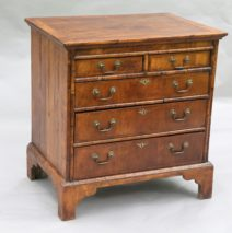 Antique French Walnut Chest