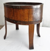 Antique Oak Wine Cooler