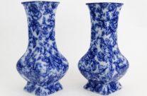 Antique Cavendish Vases, Pair