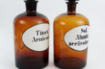 Large Apothecary Pharmacy Bottles