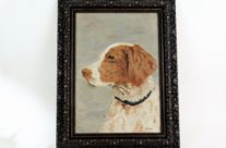 Sporting Dog French Oil Painting