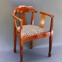 English Barrel Back Chair