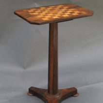 Antique Games Table; Game Table