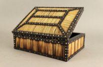 Porcupine Quill & Ebony Box