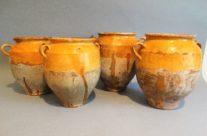 Antique French Confit Pots