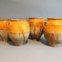 Antique French Confit Pots
