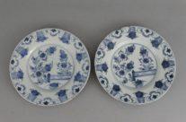 18th-Century Delft Plates