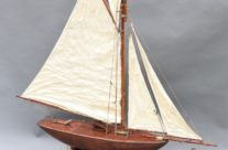 Antique Pond Yacht Boat