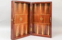 Antique Games Box, Chess, Backgammon