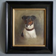 Jack Russell Terrier Oil Painting
