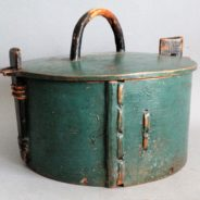 Antique Swedish Tine Bentwood Box